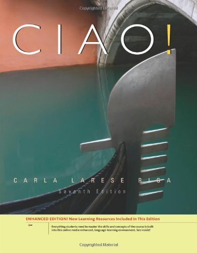 By Carla Larese Riga - Ciao!, Enhanced (7th Edition) (2011-01-16) [Hardcover]