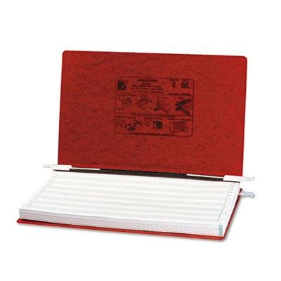 Acco - 3 Pack - Pressboard Hanging Data Binder 14-7/8 X 8-1/2 Unburst Sheets Executive Red ''Product Category: Binders & Binding Systems/Binders''