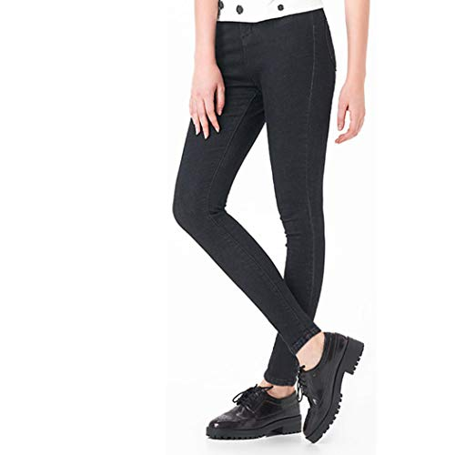 2019 Women Push Up Jeans High Waist Full Length Casual Stretch Skinny Pencil Pants Black