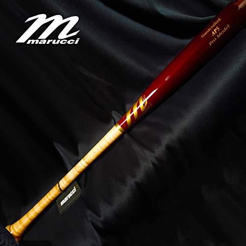 (AP5 Custom Pro Maple Baseball Bat, Inferno/Cherry 32