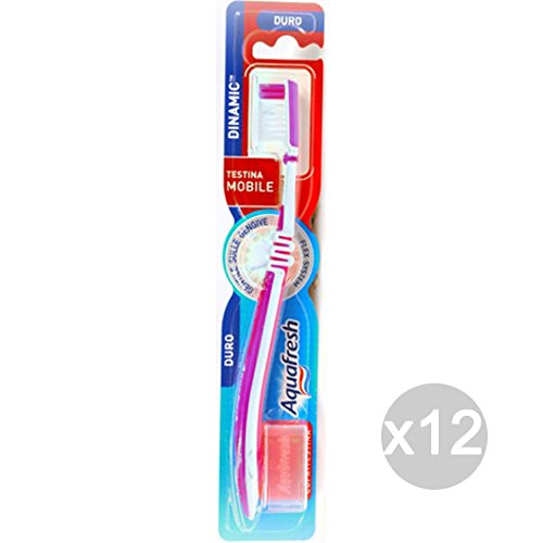 Lot 12/ Aquafresh Brosse /à dents flex dure Dinamic hygi/ène et soin des dents
