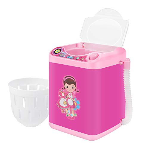 Makeup Brush Cleaner, Fixget Newest Makeup Brush Cleaners Automatic Washing Machine with Dryer Kit, Cleaning and Drying All Cosmetic Brushes