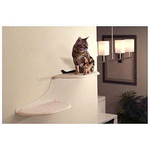 Refined Feline Cat Cloud Cat Shelf - Off White Off-White 2 levels