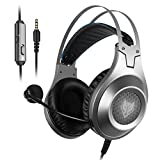 Gaming Headset for Xbox One, PS4, PC, Controller, NUBWO Wired Gaming Headphones with Microphone and Volume Control for PC / Ps4 / Xbox one 1 / Phone/Laptop, Switch Games