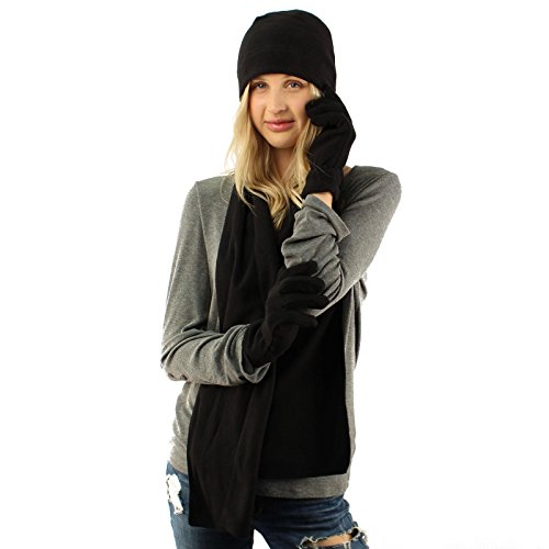 Winter Ladies Fleece Beanie Hat product image