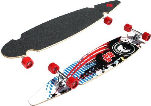 Atom Pin-Tail Sc Longboard (49-Inch)