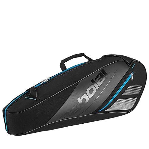 Babolat Team 3 Racquet Tennis Bag – Black/Blue – Model RH X3