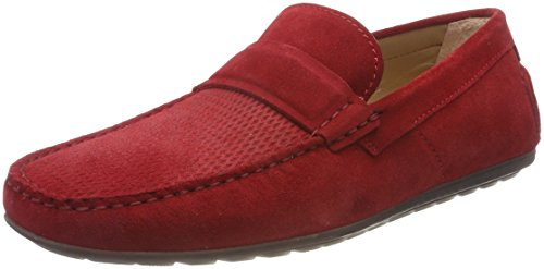 620 Rojo Red Dandy Bright Hombre Hugo Mocasines para MOCC SD n6qCqTzw