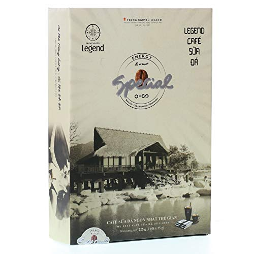 Trung Nguyen Legend Instant Coffee - Special - The best Cafe Sua Da on Earth - 9 packets x 25grams