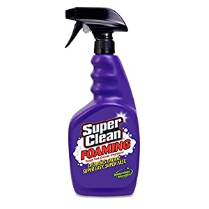 SuperClean Foaming Multi-Surface All Purpose Cleaner Degreaser Spray, Biodegradable, Full Concentrate, 32 ounce