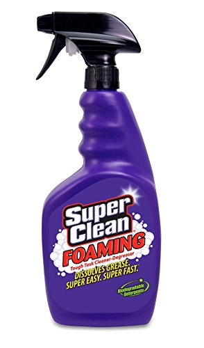 (Super Clean Foaming Multi-Surface All Purpose Cleaner Degreaser Spray, Biodegradable, Full Concentrate, 32 ounce)