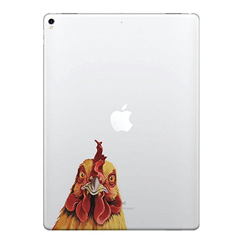 (FINCIBO 5 x 5 inch Cochin Chicken Removable Vinyl Decal Stickers for iPad MacBook Laptop (Or Any Flat Surface))