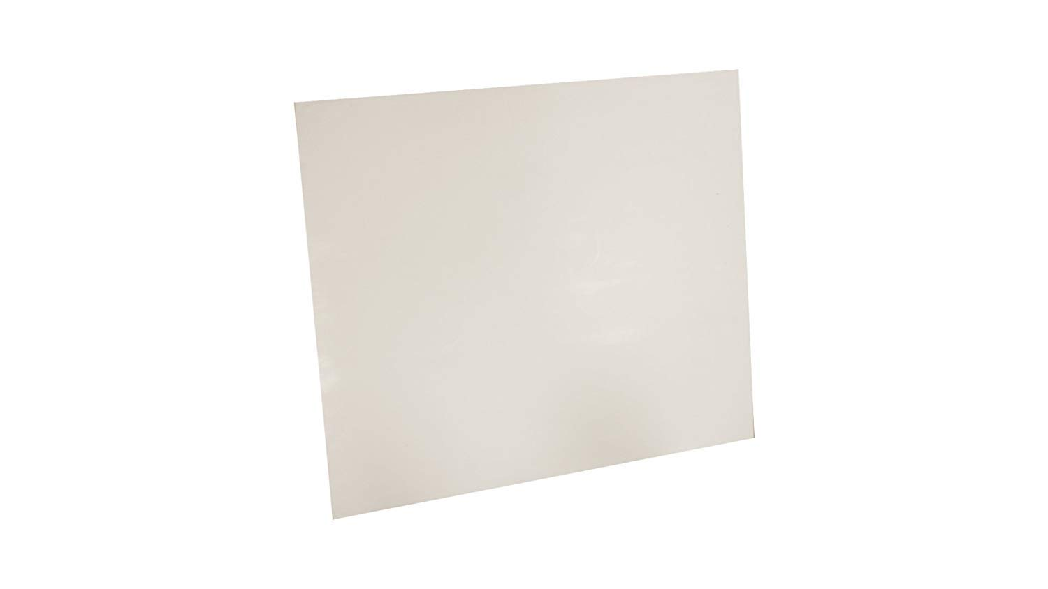 Assigned by Sterling Seal & Supply, (STCC) 7530.0312.12x12.DSC White Virgin Teflon Sheet, 12'' x 12'' Square, 1/32'' Thick by Sterling Seal & Supply (STCC) (Qty 1 Sheet) - DSC