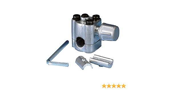 10PCS Bullet Piercing Valve Metal Replacement for Supco BPV31 Part Silver