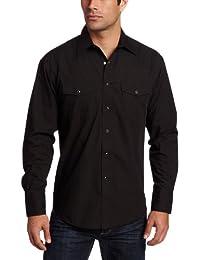 Wrangler mens big-tall Big & Tall Sport Western Snap Long Sleeve Shirt