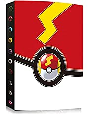 Publishing 4 Pocket Trading Card Album Compatible with Pokemon Card, Card Binder Holder, Binder Card Album Book Best Protection Trading Cards, Put up to 240 Cards