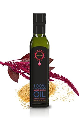Amaranth Seed Oil 100% Natural 8.45 fl oz / 250 ml Cold-Pressed Squalene Rich Unrefined Raw