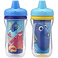 2 Pack The First Years Disney/Pixar Finding Dory Insulated Sippy Cup, 9 Ounce