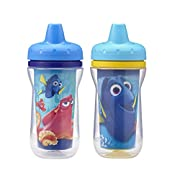 The First Years 2 Pack Disney/Pixar Finding Dory Insulated Sippy Cup, 9 Ounce (Colors and Design May Vary)