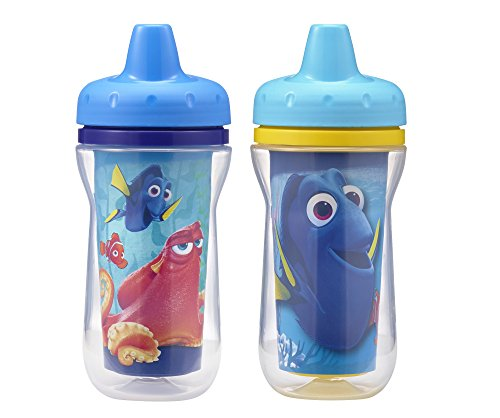 The First Years 2 Pack Disney/Pixar Finding Dory Insulated Sippy Cup, 9 Ounce (Colors and Design May -