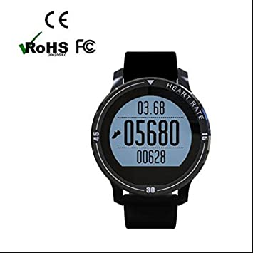 Pulsómetro Smart Watch Sport Bluetooth reloj de pulsera Tracker Sport Watch, Real Time Heart Rate