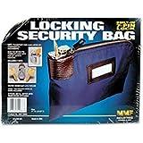 Seven Pin Security Night Deposit Bag w/2 Keys Nylon 8 1/2 x 11 Navy Comfyleads