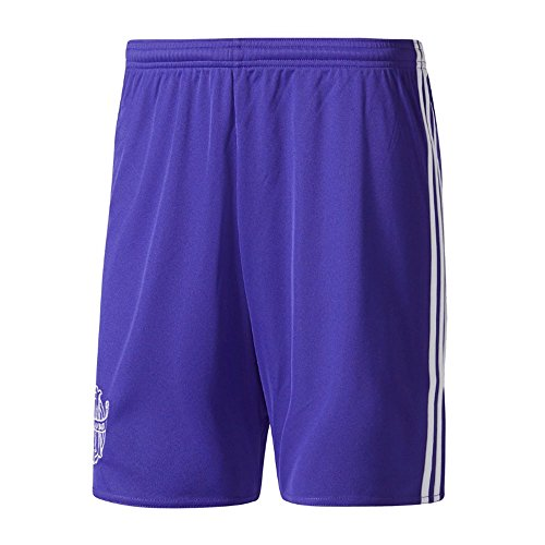 fan products of 2017-2018 Olympique Marseille Adidas Third Shorts (Energy Ink)