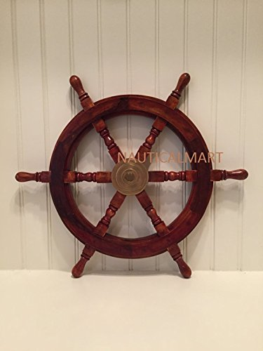 steering wheel of ship - 5
