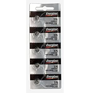 25 376 Energizer Watch Batteries SR626W Battery Cell