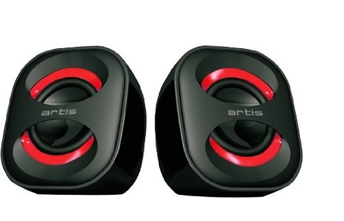 Amazon In Buy Artis Mini Black Blue Usb Speakers Online At Low
