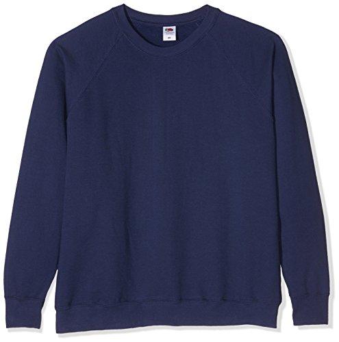 Homme The Of bleu Marine Raglan shirt Classic Sweat Fruit Loom Bleu 570zxdnww
