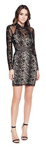 Bardot Women's Snake Lace Dress, Gingham, Large by Bardot
