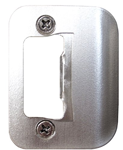 Gator Door Latch Restorer - Strike Plate (Satin Nickel) ()