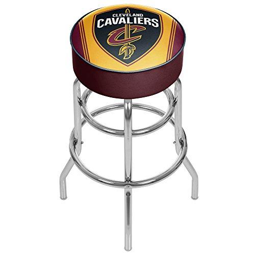 Trademark Gameroom NBA Cleveland Cavaliers Padded Swivel Bar Stool by Trademark Gameroom