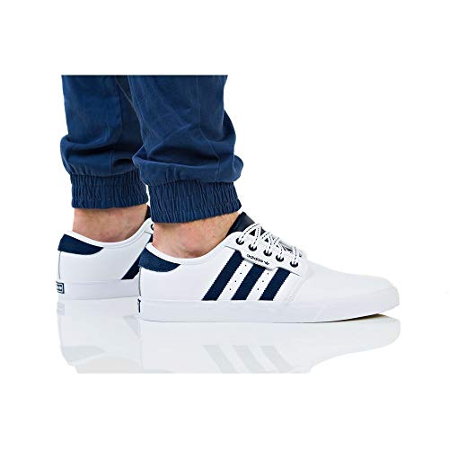 000 Blanc Seeley Pour Chaussures Gum4 Adidas Hommes Skateboard ftwbla Maruni De wvfPn7x17