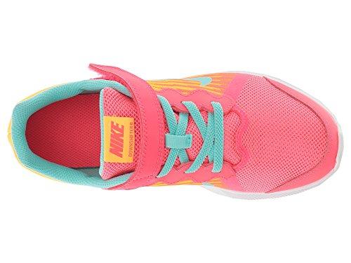 Nike Kids' Preschool Downshifter 8 Fade Running Shoes (1.5, Red/Green) by Nike (Image #8)