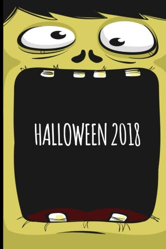 Halloween 2018: Monster Cover Blank, Wide Ruled Journal for Kids. Great Halloween Party favor and Trick or Treat giveaway. (Composition Book, 100 Pages, 6x9 -