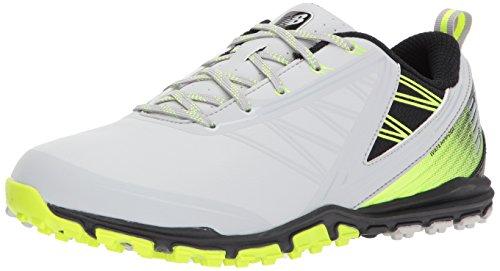 213251b09e998 Galleon - New Balance Men's Minimus SL Golf Shoe, Grey/Green, 9.5 2E 2E US