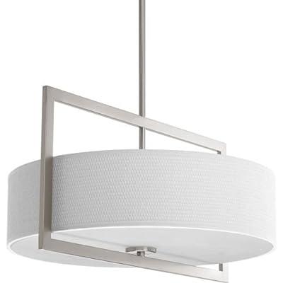 "Progress Lighting P3531 Harmony 18"" Wide 3 Light Semi-Flush Ceiling Fixture with,"