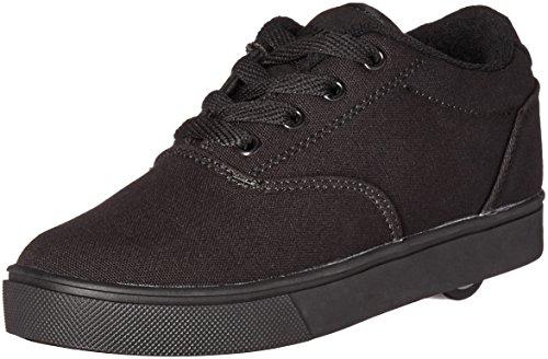 Heelys Boys' Launch Sneaker, Black Solid, 6 M US Big Kid ()