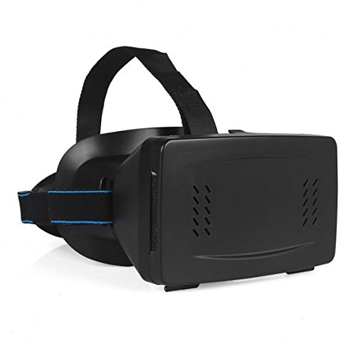 SainSonic VR Virtual Reality magnet Control 3D Glasses for 3.5~6 Smartphone Black