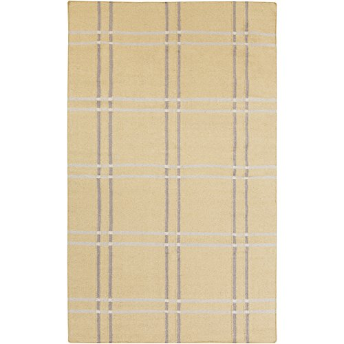 angelo:HOME by Surya Sheffield Market SFM-8005 Flatweave Hand Woven 100% Wool Parsnip 3'3