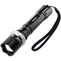 IHP Tactical Police Heavy Duty 3W Rechargeable Flashlight by Inter House Product