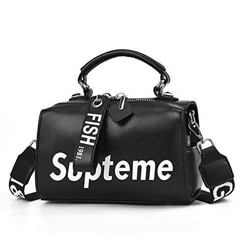 Flying Crossbody Pelle Moda Black Casual Grande Di A Borsetta Bag Elegante Tracolla Spalla Capacità Borsa Impermeabile donne q4rAwt4