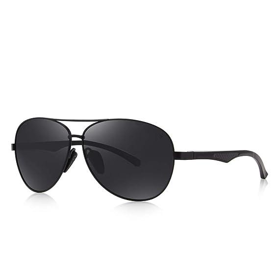 DEFJQQPL Sunglasses Gafas de sol para hombre HD Gafas polarizadas Gafas de sol polarizadas de la marca: Amazon.es: Ropa y accesorios