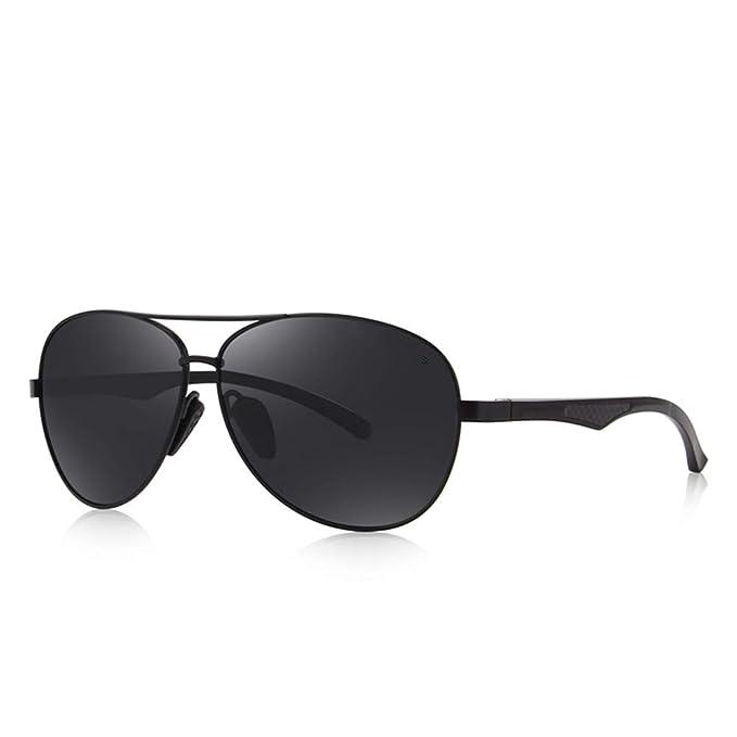 DEFJQQPL Sunglasses Gafas de sol para hombre HD Gafas polarizadas Gafas de sol polarizadas de la