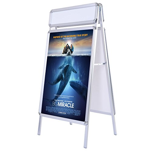 Giantex Portable Frame Display Poster