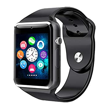 GETIHU Reloj Inteligente A1 Smartwatch para Apple iPhone Android ...