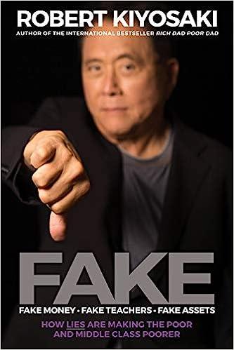 Fake Money by Robert Kiyosaki
