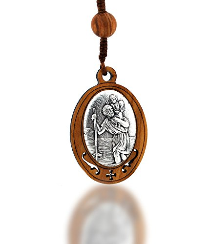 St Christopher Deluxe Key Chain
